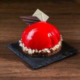 Torta red delicious Fotografía de archivo