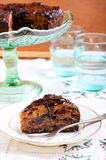 Torta rica de la fruta Foto de archivo libre de regalías