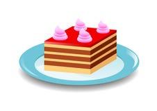 Torta roja libre illustration