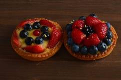 Torta rossa fresca della frutta Immagine Stock Libera da Diritti