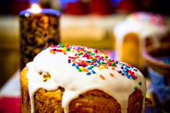 Torta rusa de Pascua Fotos de archivo libres de regalías