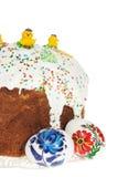 Torta russa di Pasqua Fotografia Stock