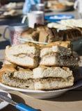 Torta russian tradicional do fermento fotografia de stock royalty free