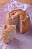 Taglio rustico della torta di porco Fotografie Stock Libere da Diritti