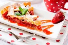 Torta saboroso Fotos de Stock Royalty Free