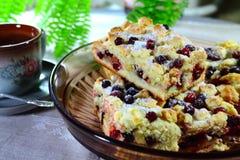 Torta saboroso da airela Fotos de Stock Royalty Free