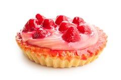 Torta saboroso da morango Imagens de Stock Royalty Free