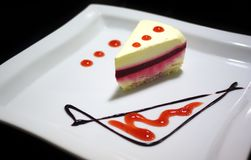 Torta sabrosa Foto de archivo