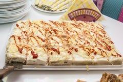 Torta salata Fotografia Stock