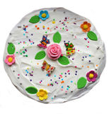 Torta saporita Fotografie Stock