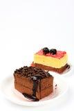 Torta squisita Immagine Stock