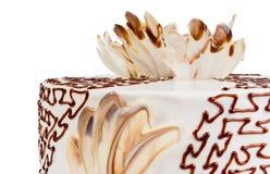 Torta squisita del biscotto Fotografie Stock Libere da Diritti