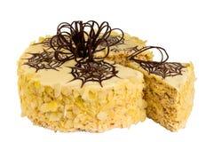 Torta squisita del biscotto Immagini Stock
