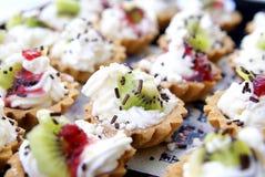 Torta squisita della frutta Fotografie Stock