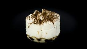Torta squisita di tiramisu Fotografia Stock
