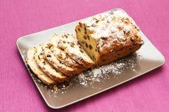torta su una zolla Fotografia Stock