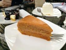 Torta tailandese del tè Fotografie Stock Libere da Diritti