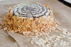 Torta tradicional de Esterhazy del húngaro foto de archivo libre de regalías