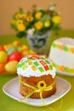 Torta tradicional de pascua foto de archivo libre de regalías
