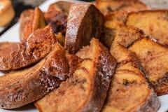 Torta tradicional hecha en casa sabrosa de la fruta Imagenes de archivo