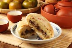 Torta tradicional taiwanesa Fotos de archivo