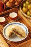 Torta tradicional taiwanesa Imagenes de archivo