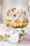 Torta tradizionale di Pasqua Fotografie Stock