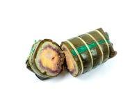 Torta tradizionale vietnamita di nuovo anno fotografia stock