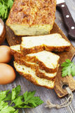 Torta vegetal com queijo e ervas Fotos de Stock