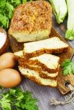 Torta vegetal com queijo e ervas Fotografia de Stock Royalty Free