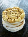 Torta vietnamita del anacardo Foto de archivo