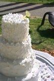 Torta Wedding fotografia stock