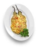 Tortang talong, eggplant omelet, filipino food Stock Image