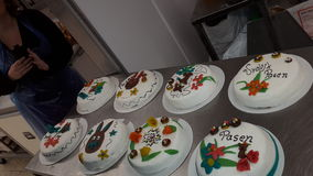 tortas Fotografía de archivo