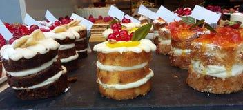 tortas Imagen de archivo libre de regalías