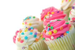 Tortas bonitas de la taza imagen de archivo