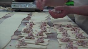 Tortas da padaria e de carne filme