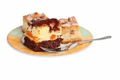 Tortas de Apple y de la naranja. imagen de archivo libre de regalías