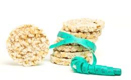 Tortas de arroz Fotos de archivo libres de regalías