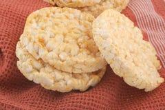 Tortas de arroz Imagen de archivo libre de regalías