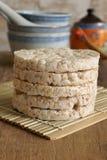 Tortas de arroz Imagenes de archivo
