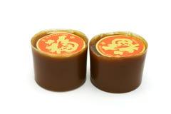 Tortas de arroz pegajoso chinas del Año Nuevo imagenes de archivo
