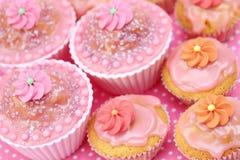 Tortas de cumpleaños Imagen de archivo libre de regalías