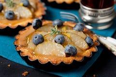 Tortas de la fruta Fotos de archivo