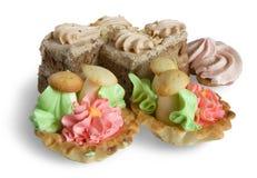 Tortas de la galleta Foto de archivo libre de regalías