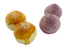 Tortas de la yema de huevo Foto de archivo libre de regalías