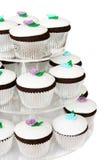 Tortas de lujo de la taza Imagen de archivo