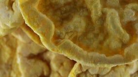 Tortas de maíz bio almacen de metraje de vídeo
