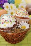 Tortas de Pascua foto de archivo libre de regalías