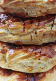 Tortas del buñuelo esmaltado Foto de archivo